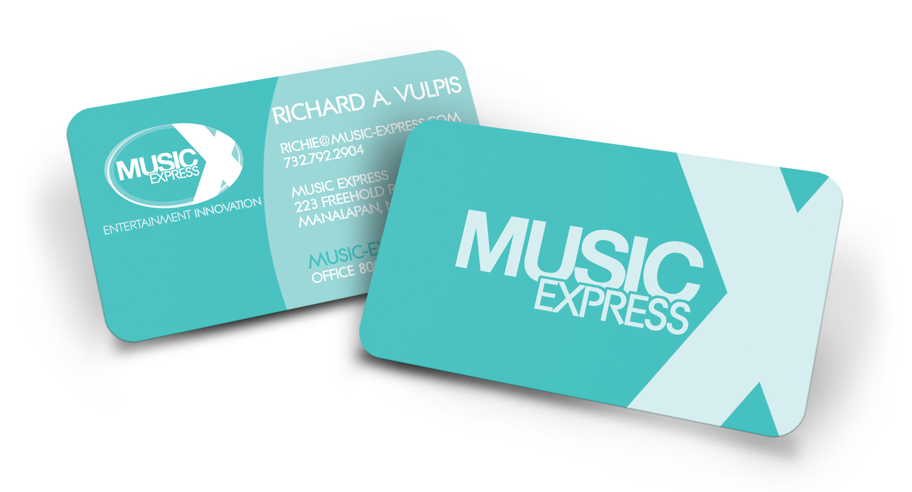 Business card print design screaming lunatic design agency indianapolis reheart Images