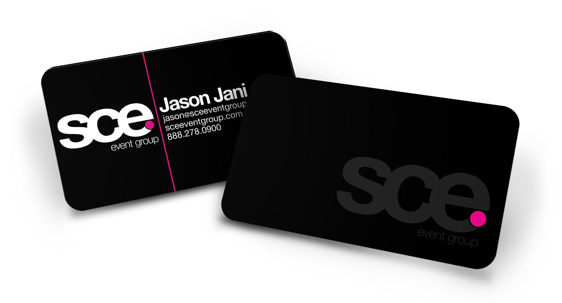 Business card print design screaming lunatic design agency coaster manufacturing company colourmoves