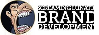 NJ Web Design, SEO, Social Media, Graphic Design | Screaming Lunatic Logo